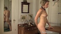 Yanks MILF Kiki Humps And Squirts