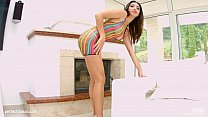 Creampie gonzo scene with Frida Sante from All ...