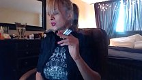 Sandi Smoking 3 Brown Cork Cigarettes (Request)