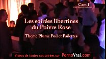 Part 07 Spy cam french private party! Camera es...
