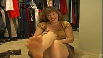 Mommy Afton - Mommy Stuffs Her Panties Into Her...