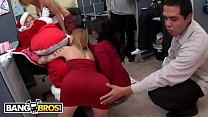 BANGBROS - Fuck Team Five Holiday Christmas Party Turns Into Orgy