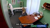 FakeHospital Dizzy young blonde takes a creampi...