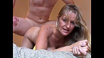 Beautiful mature blonde Vickie enjoys a sexy afternoon fuck