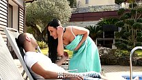 Passion-HD - Brunette with great ass Anna Rose ...
