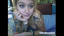 Tattoos hairy camgirl live toys fuck webcam show