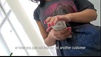 Eurobabe Samante pounded with her customer for ...