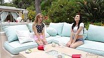 Petite Teens Marley Brinx and Kylie Nicole