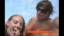 Milf Mom and Teen Daughters CUM Vacation at SEA