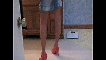 Hot Busty Blonde MILF Sex In Heels 00