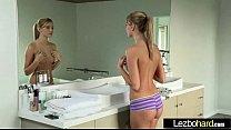 (Riley Reid & Kenna James) Amateur Teen Girls Make Love In Hot Lesbian Act video-25