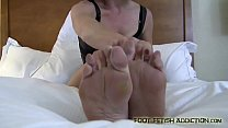 Jean Bardot commands you to worship her feet