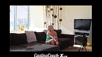 Casting Couch-X Blonde Southern bimbo fucks for...