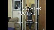 Mistress Liliana Sweaty Sock Worship