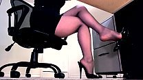 masturbation and legs secretary of Compilation