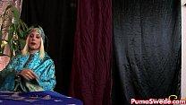 Hot Psychic Puma Swede Fucks Her Hot Client!