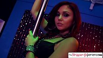 The Stripper Experience - Ariana Marie strip down and suck a huge cock