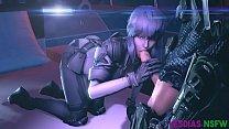 FapZone // Motoko Kusanagi (Ghost In The Shell First Assault)