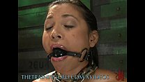 Slave Can't Hold Back Her Orgasms