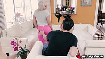 Horny Cleo Vixen getting banged by huge large hard pole