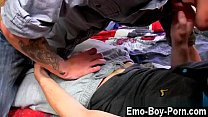 Gay jocks Horny chav lad Leo Foxx has no time to waste when he meets
