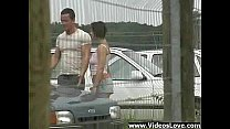 Group Sex in Car Parking Lot