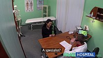 FakeHospital Young mum has her ass tongued by t...