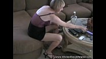 Nervous Amateur Wife Abused