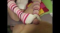 ashlyn rae in knee high socks sucking cock