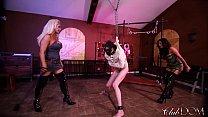 Jamie Valentine & Olivia Fox Enjoy Slave Milking Day