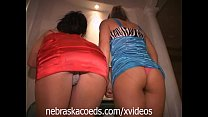 College Party Girls Naked at MTV Cribs House Part 1