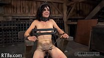 Titty punishment for naughty playgirl