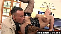 HumiliatedMilfs - She's so dedicated that she lets her boss fuck her ass