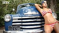 Aricia Silva - Making Of Revista Sexy HD