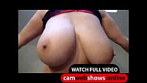 Gorgeous Boobs Shake On Webshow - Online