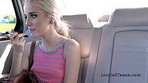Bf dares teen to fucks stranger in his car