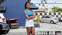 Mofos - Stranded Teens - Busty Chicks Back Seat Blowjob starring Raven Redmond