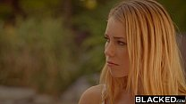 BLACKED Huge black cock makes tiny blonde scream