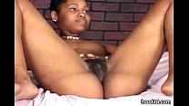 Black dude fucks sexy ebony teen girl