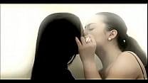 Mocha and Jaycee Lesbian Kissing