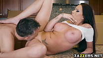 Keiran Lee screwing that Shaved pussy with his big cock