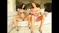 Prime Cups Two natural tit amazons stroke and m...