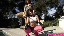 Lesbian Girls Delila Darling And Taisa Banx Have Some Fun