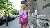 Hungarian Blonde Babe Vanda Lives The Ass Plug ...