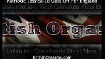 Patriotic Jessica-Lo Gets Off for England