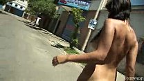 YouPorn - Latina exhibitionist nude in public L...