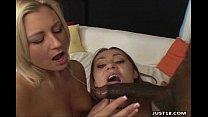 Two Horny School Girls Dirty Thressome