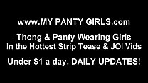 My pink panties will make you drool JOI