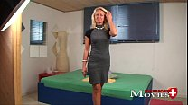 claudia model blonde with interview Porn