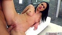 Sticky internal cumshot for Denise Sky after bl...